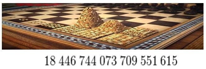 ejemplo de progresión geométrica en el ajedrez